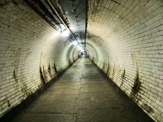 Greenwich Thames foot tunnel