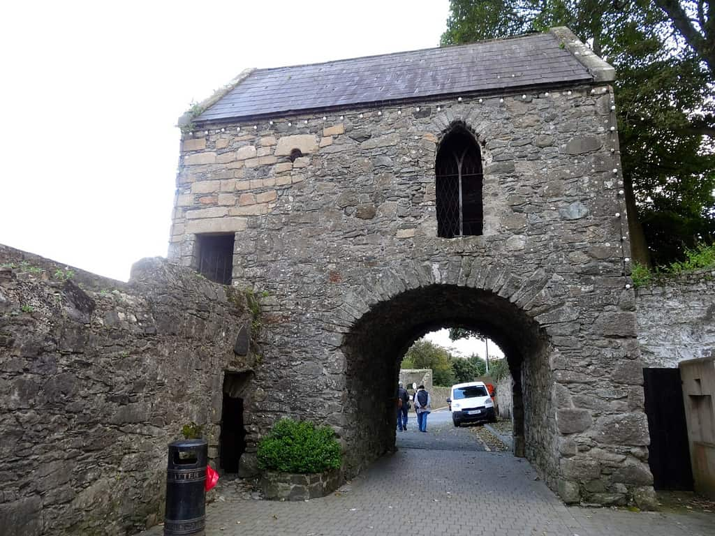 The tholsel (town gate) in Carlingford Ireland