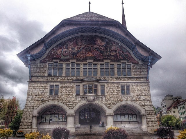 Le Locle, watchmaking town Switzerland