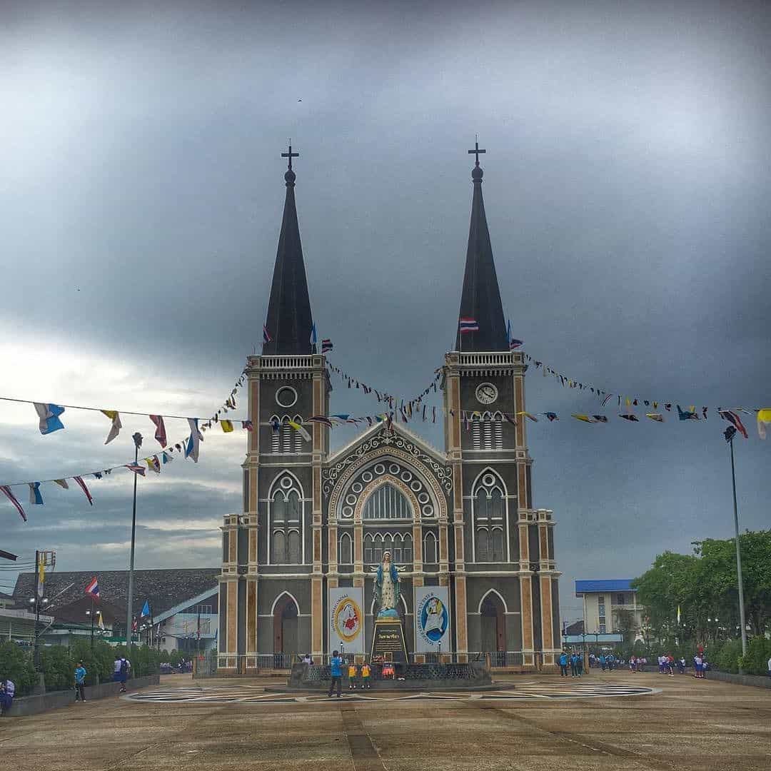 Christian church in Chanthaburi