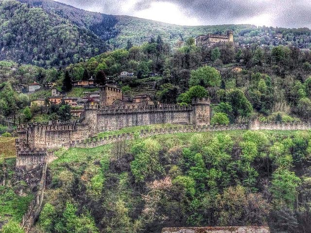 Bellinzona Castles, Ticino, Switzerland
