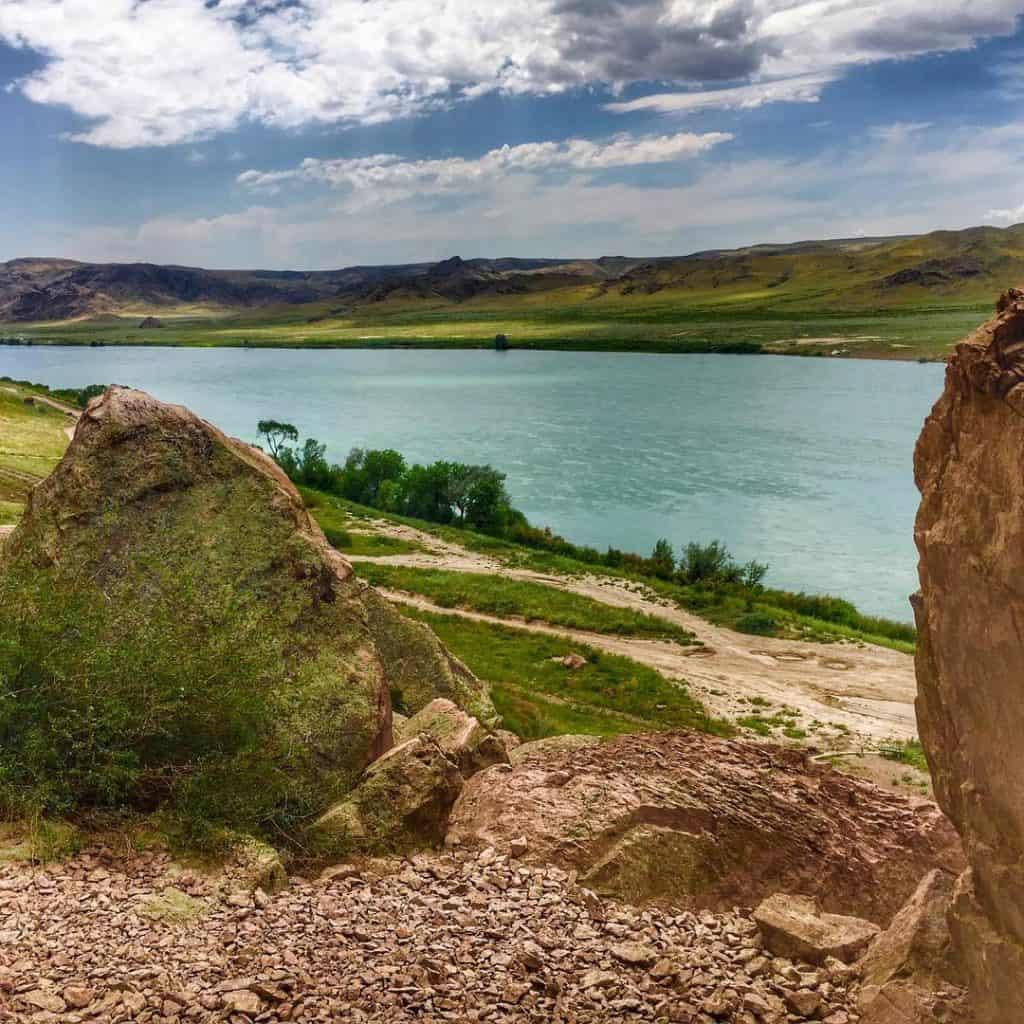 Tamgaly Gorge, Kazakhstan