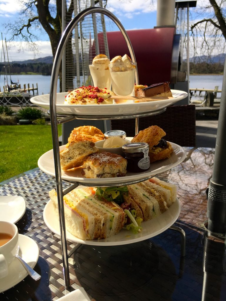 Afternoon tea in the English Lake District