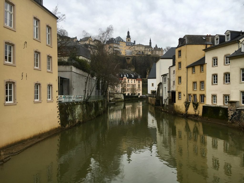 Luxembourg City, a UNESCO World Heritage site.