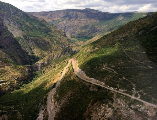 Tatev Monastery: flying up the mountain