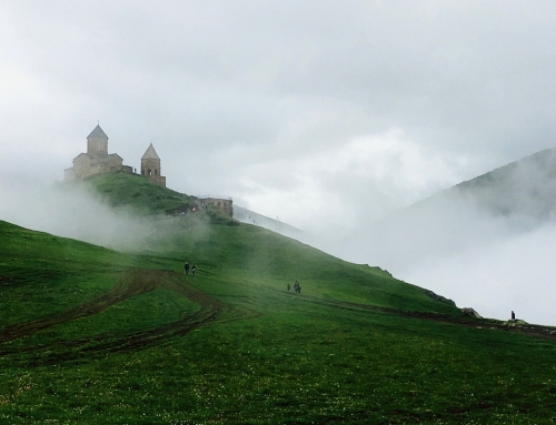 Day out Tbilisi: Ananuri Castle and Kazbegi Mountains