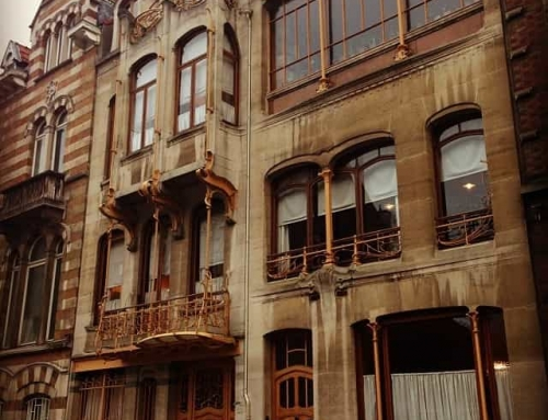 World at a Glance: Brussels' Victor Horta museum