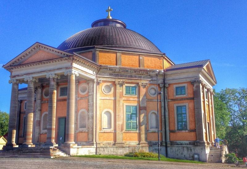 UNESCO Sweden Port of Karlskrona - Trefaldighetskyrkan (Church of the Holy Trinity)