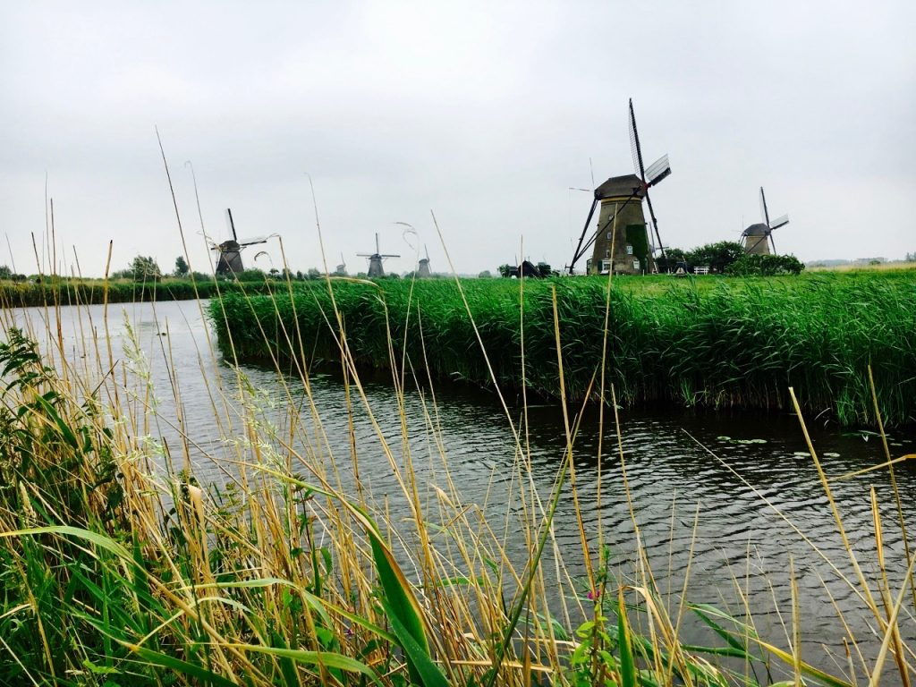Kinderdijk windmills, the Netherlands