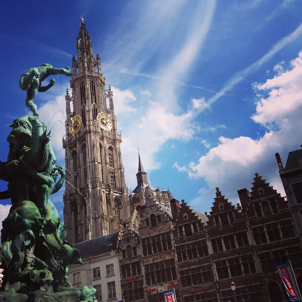 Belfries in Belgium and France: Antwerp - Onze-Lieve-Vrouwekathedraal, Cathedral of Our Lady