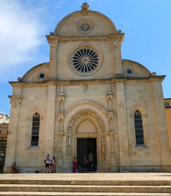 UNESCO-listed St James Cathedral Sibenik Croatia