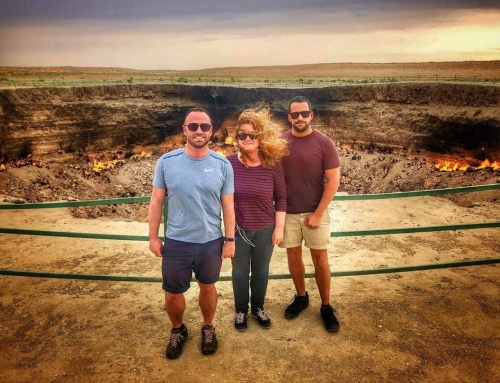 Transfixed in Turkmenistan: The Gates of Hell and Other Eccentric Encounters
