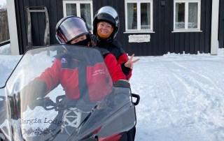 snowmobile Arctic Norway