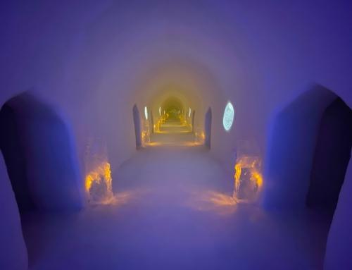 Sorrisniva igloo hotel: transient icy charm