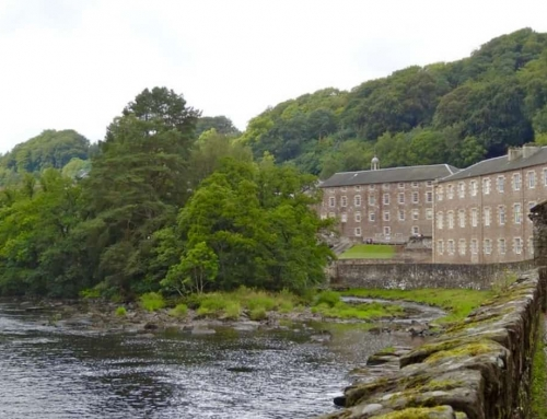 New Lanark: compassionate capitalism works (Day out Edinburgh)