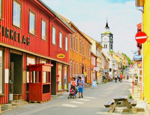 Røros Mining Town – and a childhood inspiration